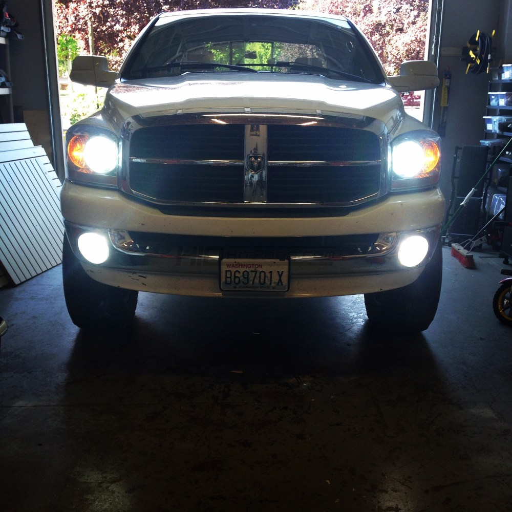 medium resolution of 2006 2008 dodge ram morimoto bi xenon hid system