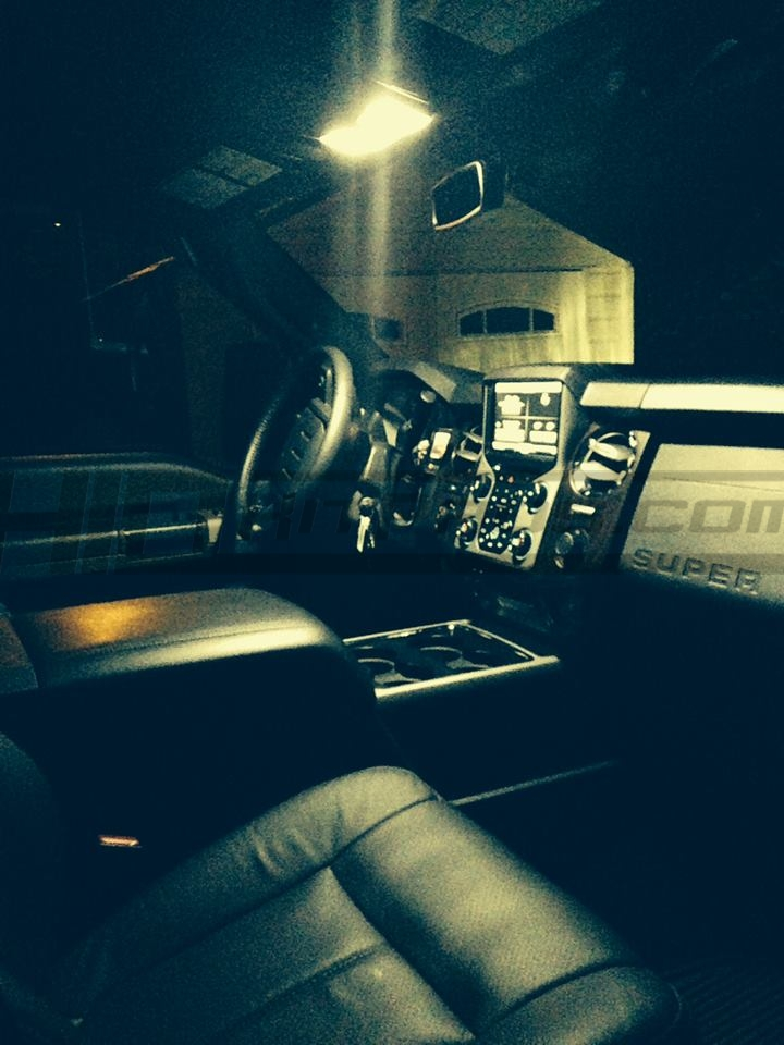 2008 2016 Ford Super Duty   LED Interior Lighting Package