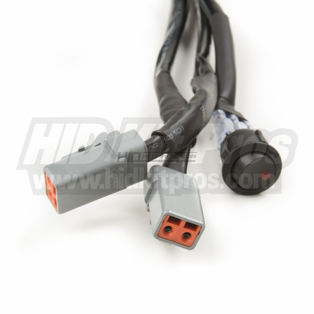 medium resolution of totron dual light bar wiring harness