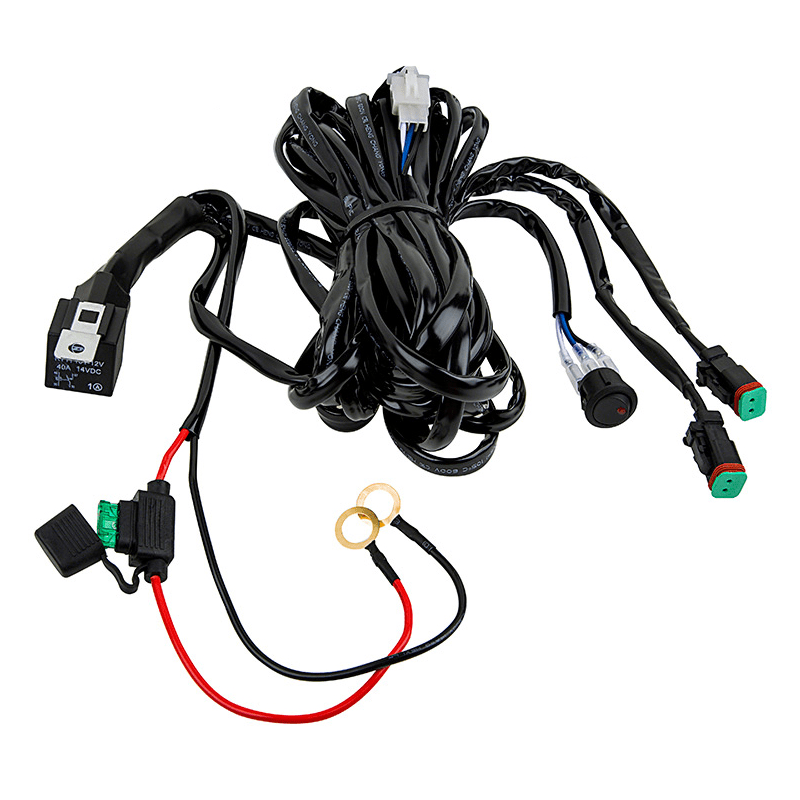 Pleasant Totron Dual Output Wiring Harness Hid Kit Pros Wiring Cloud Oideiuggs Outletorg