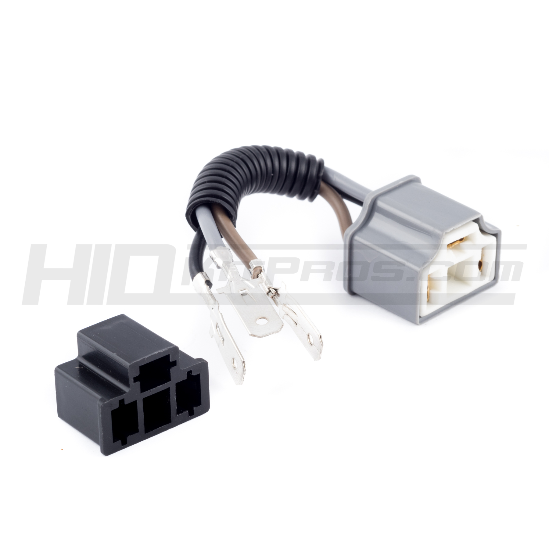 H4 9003 To Male Female Pigtail Socket Adapter Hid Kit Pros Headlight Wiring Diagram