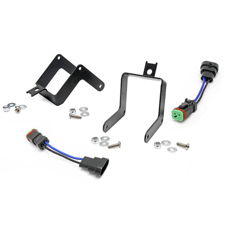Ford Super Duty LED Fog Light Pod Mounts | HID Kit Pros on