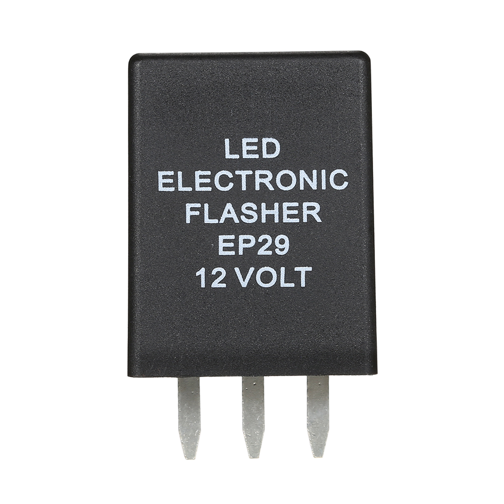 LED Electronic Flasher EP29 EP29N 12 Volt 4Pin Relay Turn Signal Bulbs Hyper Flash