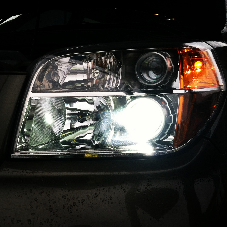 2003-2017 Honda Pilot HID Car Front Light Conversion Kit 35w Bright White Blue