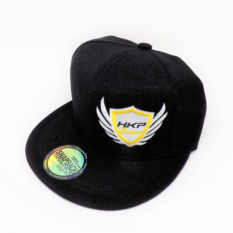 d93b4024fb8926 HKP Customs Flat Bill Snapback Hat | HID Kit Pros