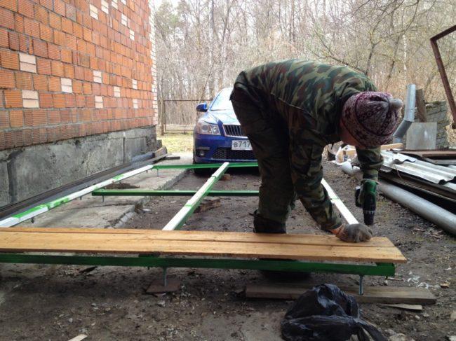 Строительство вольера для овчарки самостоятельно, инструкция
