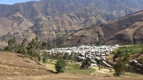Centro Poblado de Pamparomas (2,862 msnm)