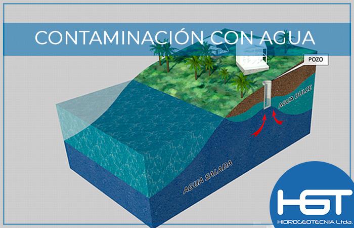 Contaminación con agua de mar en acueductos costeros