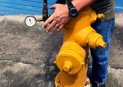 Levantamiento del sistema y análisis hidráulico para las 13 zonas de presión que conforman el sistema La Valencia, del Acueducto Metropolitano de AyA