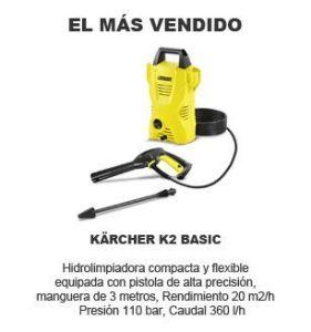 comprar hidrolimpiadora Karcher K2 Basic