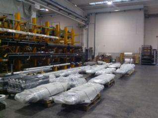 Hidromec cilindri idraulici in consegna