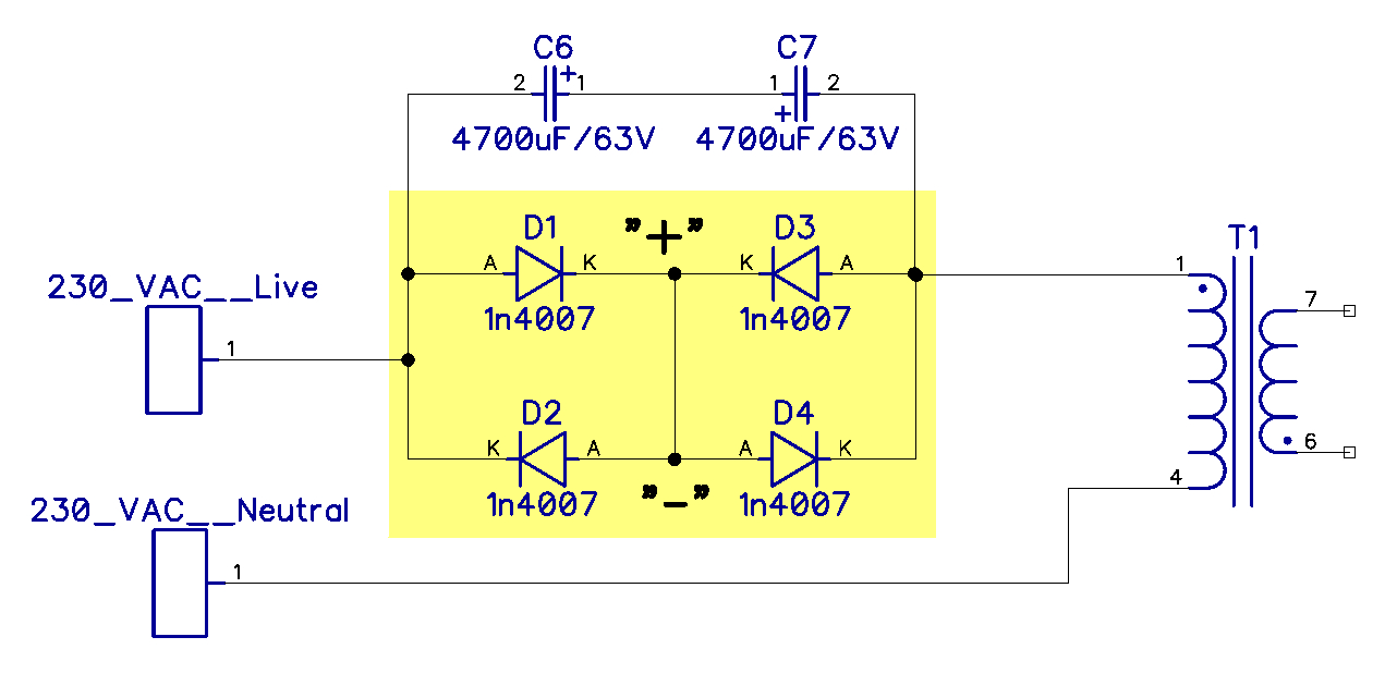 Really Simple Audio Preamplifier Electronic Schematic Diagram