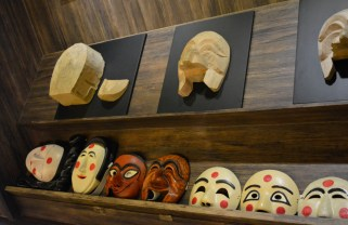 World Mask Museum, traditional Hahoe masks - Taken by Hien Nguyen