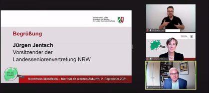 Screenshot des Vortrag von Herrn Jentsch (LSV)