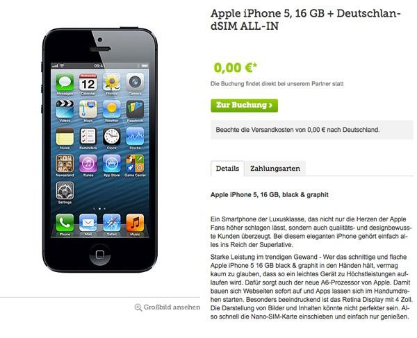 iPhone5-null-euro