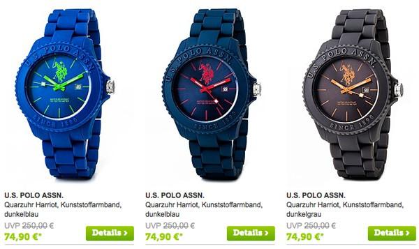Uhr von U.S. Polo Assn. günstiger kaufen