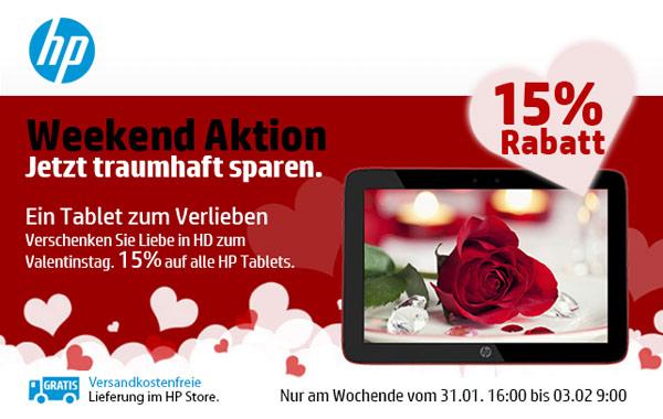 HP Tablet günstiger Rabatt