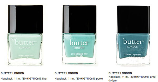 butter London Nagellack günstiger