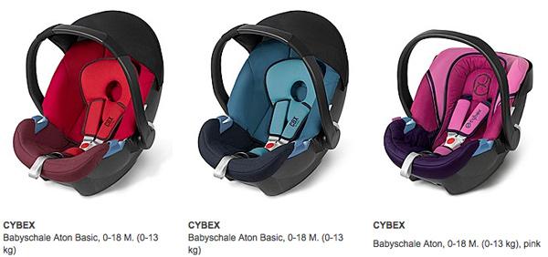 Cybex Babyschale und Autositz günstiger kaufen