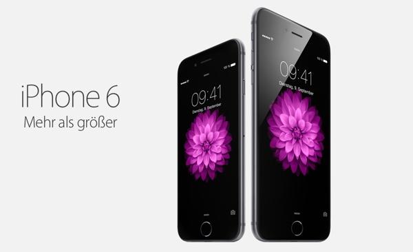 iPhone6 und iPhone 6 Plus mit Vertrag günstiger