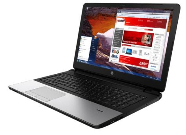 günstiges 15 Zoll Notebook HP 350G1 mit Windows 7