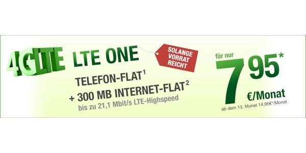 günstiger LTE Tarif im o2 Netz