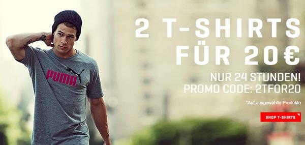Puma Rabattaktion T-Shirts