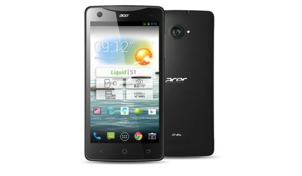 Acer Liquid S1 Dual SIM Smartphone mit großem Display