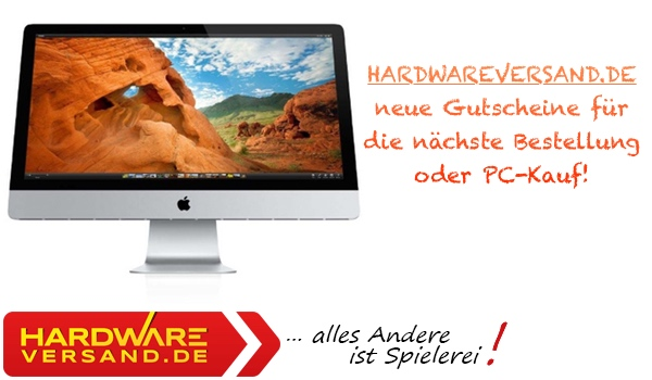 hardwareversand.de Gutschein Coupon Rabatt