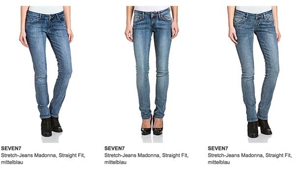 Seven7 Jeanshose günstiger kaufen