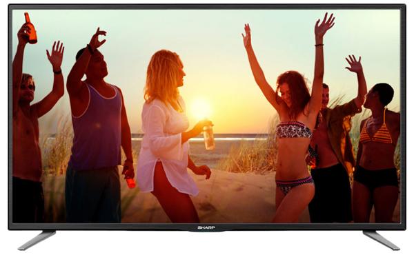 günstiger 50 Zoll LED Fernseher Sharp LC-50CFE5102E unter 400 Euro