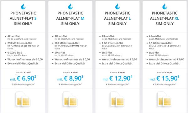 günstige Allnet Flat im Telekom Netz