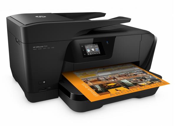 HP OfficeJet 7510 DIN A3 Tintenstrahldrucker 4in1 kopieren, faxen, scannen, drucken