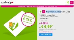 Telekom Internet Flat und Telefonier Flat unter 7 Euro im Monat