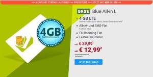 BASE All-in L günstiger Smartphone Tarif