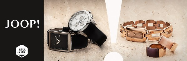 JOOP Schmuck und Uhren für Frauen und Männer günstiger kaufen