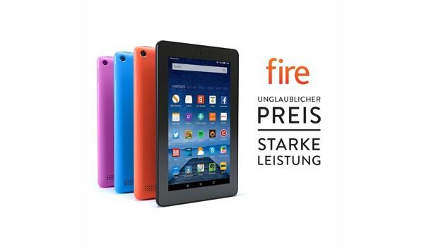 Amazon Fire-Tablet 7 Zoll günstiger kaufen