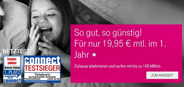 Telekom Magenta Zuhause günstiger unter 20 Euro