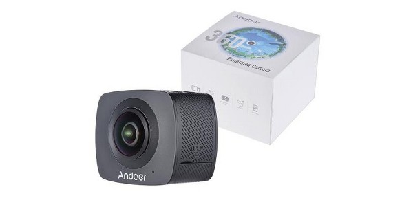 Panorama 360° Grad Kamera Andoer Dual Lens günstiger kaufen