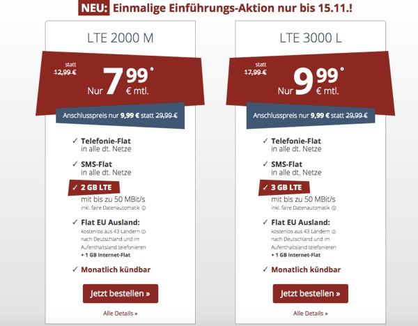 PremiumSIM günstiger Handytarif Smartphonetarif