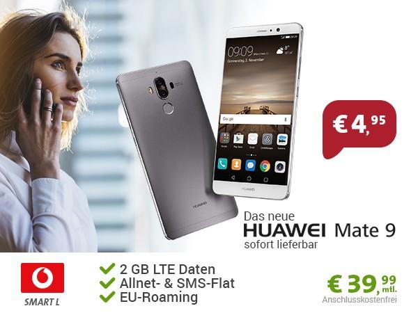 Huawei Mate 9 mit Vodafone Tarif