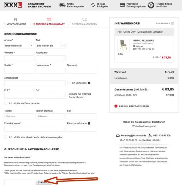 Xxxlutz Gutschein I 1000 Rabatt Februar 2019