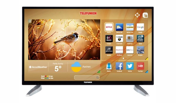 Telefunken LF32FZ41B 32 Zoll LED Fernseher Full-HD SmartTV