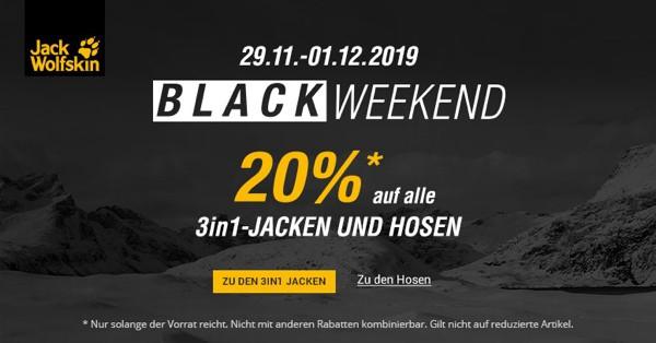 Jack Wolfskin Black Week