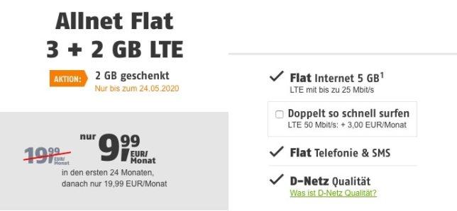 klarmobil günstige Allnet-Flat
