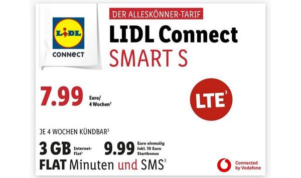 Lidl Connect günstiger Handyvertrag