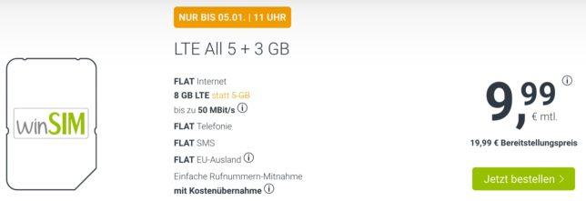 unter 10 Euro Handyvertrag
