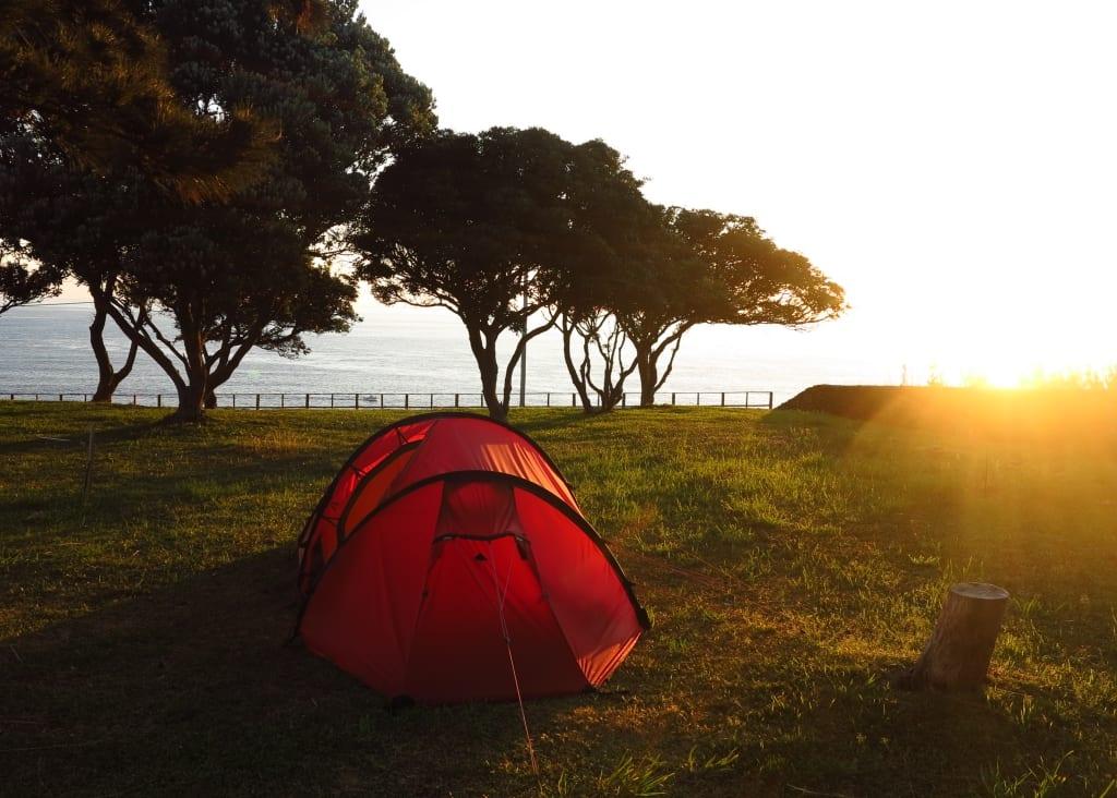 Campingplatz Salao auf Faial
