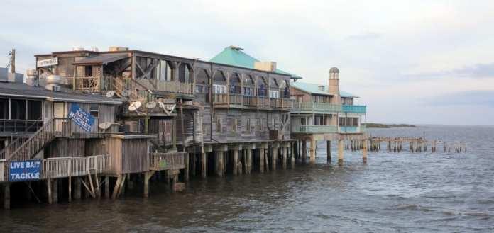 Cedar Key am Hafen