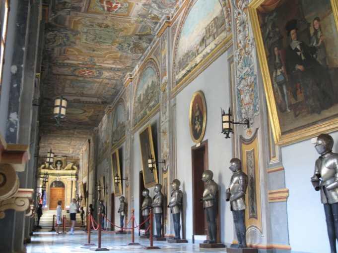 Die Armoury des Großmeisterpalasts in Valletta